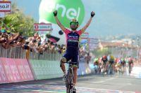 Diego Ulissi gagne son étape du Giro