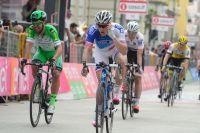 Arnaud Démare placé dans les sprints du Giro