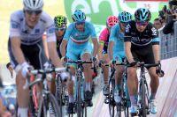 Vincenzo Nibali et Mikel Landa marquent le pas