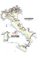 Le parcours du 100ème Tour d'Italie