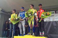 Le podium du GP de Montamisé