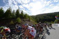 Le gruppetto du Tour d'Italie