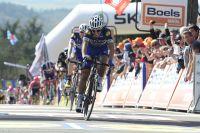 Comme l'an dernier, Julian Alaphilippe termine 2ème au sommet du mur de Huy