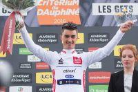 Julian Alaphilippe, Maillot Blanc du Critérium du Dauphiné