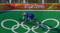 Joris Daudet en piste à Rio