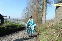 Lars Boom en reco du Tour des Flandres