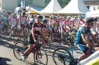 Le départ de la Cyclo du Tour de l'Avenir