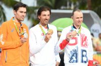 Le podium des jeux olympiques CLM de Rio