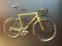 Le vélo BMC du Champion olympique