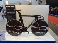 Le vélo de piste Look qui a servi aux Jeux Olympiques