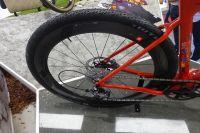 Les pneus de l'édition limitée du Gravel de 3T Cycling