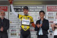 Lennard Hostede leader du Rhône Alpes Isère Tour