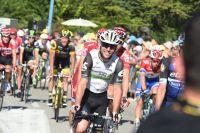 Mark Cavendish tranquille dans le gruppetto