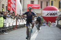 Mauro Finetto célèbre... sa 2ème place !