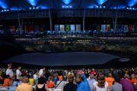 Le stade Maracana à l'heure de la cérémonie d'ouverture des JO 2016