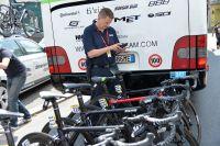 Mark Barfield, directeur technique de l'UCI en charge de la lutte contre la fraude mécanique
