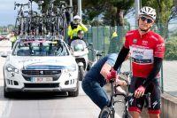 Marcel Kittel victime d'une crevaison