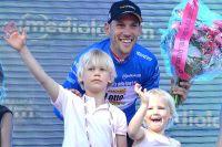 Maarten Tjallingii, maillot bleu du Tour d'Italie