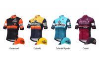 Des maillots Santini pour fêter le Giro