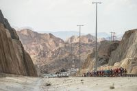 Le peloton du Tour d'Oman