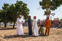 Le public omanais salue le peloton