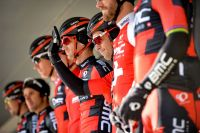 Richie Porte et les coureurs de BMC Racing Team