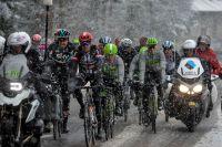 Sous la neige, Paris-Nice est neutralisé