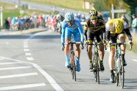 Sep Vanmarcke, Sylvain Chavanel et Delio Fernandez donnent du fil à retordre aux équipes de sprinteurs