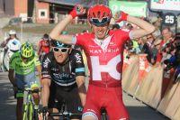 Ilnur Zakarin gagne l'étape-reine de Paris-Nice à la Madone d'Utelle