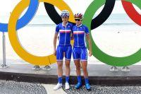 Audrey Cordon et Pauline Ferrand-Prévot aux Jeux Olympiques