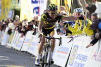 Thomas Voeckler savoure sa victoire à Cassis