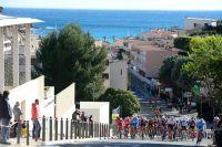 Le peloton du Tour de la Provence