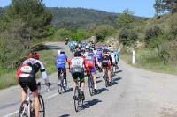 Le peloton de la Provençale Sainte-Victoire