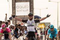 Mark Cavendish s'impose en ouverture du Tour du Qatar