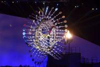 La flamme olympique des Jeux de Rio