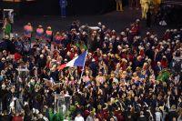 L'équipe de France olympique défile à Rio