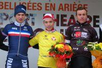 Le podium de la Ronde de l'Isard