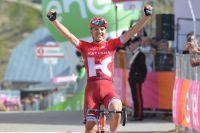 Rein Taaramae remporte la dernière étape de montagne