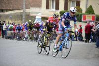 Dans le mur de Laudun, Sylvain Chavanel répond à l'accélération de Dimitri Claeys