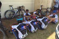 La sélection cyclistes de la Fédération des Clubs de la Défense se prépare