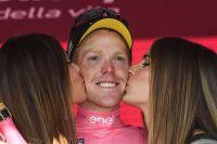Steven Kruijswijk, maillot rose