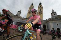 Steven Kruijswijk maillot rose