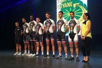Stéphane Cognet et la Fédération des Clubs de la Défense au Tour de Guyane