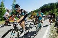 Wout Poels protège Chris Froome