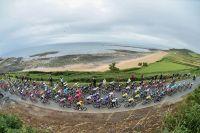 Le Tour de France sur les côtes de la Manche