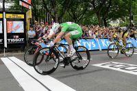 Sprint serré entre André Greipel et Mark Cavendish