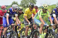 Peter Sagan parade en jaune