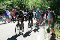 Alejandro Valverde et Nairo Quintana en chasse