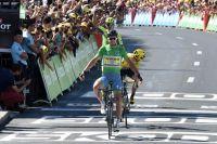 Peter Sagan bat Chris Froome au sprint à Montpellier