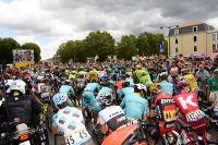 Au départ du Tour de France